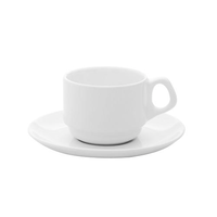 Пара кофейная (чашка 75мл и блюдце 12см) Oxford фото, купить в Липецке   Uliss Trade