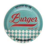 Тарелка для гамбургеров 26см, цвет голубой, Oxford фото, купить в Липецке   Uliss Trade