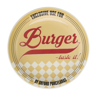 Тарелка для гамбургеров 26см, цвет желтый, Oxford фото, купить в Липецке   Uliss Trade
