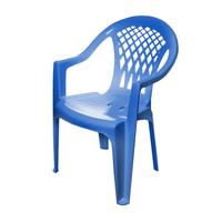 Кресло пластиковое Виктори синее фото, купить в Липецке | Uliss Trade