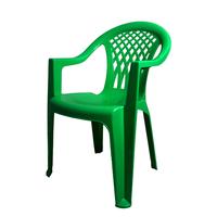 Кресло пластиковое Виктори зеленое фото, купить в Липецке | Uliss Trade