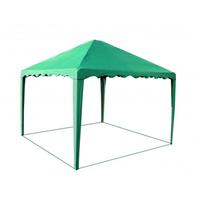 Шатер-беседка Митек 2,5 х 2,5 зеленая фото, купить в Липецке | Uliss Trade