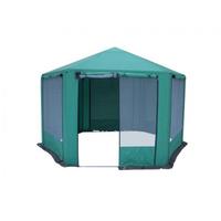 Шатер «Пикник-шестигранник» зеленый фото, купить в Липецке | Uliss Trade