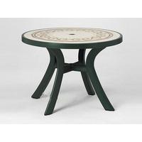 Стол пластиковый круглый Toscana 100 (арт. 0211205-1265) фото, купить в Липецке | Uliss Trade