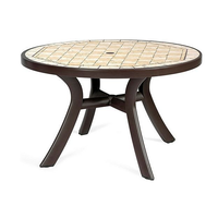 Стол пластиковый круглый Toscana 120 (арт. 0211204-2764) фото, купить в Липецке | Uliss Trade