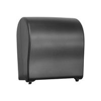 Автоматический держатель бумажных полотенец в рулонах MERIDA UNIQUE SOLID CUT EXCLUSIVE CARBON LINE фото, купить в Липецке   Uliss Trade