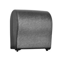Автоматический держатель бумажных полотенец в рулонах MERIDA UNIQUE SOLID CUT GLAMOUR BLACK LINE фото, купить в Липецке   Uliss Trade