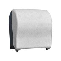 Автоматический держатель бумажных полотенец в рулонах MERIDA UNIQUE SOLID CUT GLAMOUR WHITE LINE фото, купить в Липецке   Uliss Trade