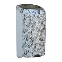 Корзина для мусора настенная открытая 40 л MERIDA UNIQUE LAS VEGAS LINE фото, купить в Липецке | Uliss Trade