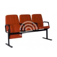 Многоместные секции кино-концертные кресла София фото, купить в Липецке | Uliss Trade