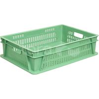 Пластиковый ящик 600х400х150 (перфорированное дно) фото, купить в Липецке   Uliss Trade
