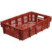 Пластиковый ящик 600х400х150 (перфорированный) фото, купить в Липецке   Uliss Trade