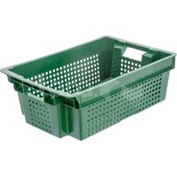 Пластиковый ящик 600х400х200 усиленный фото, купить в Липецке   Uliss Trade