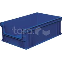 Пластиковый ящик 600х400х220 с вырезом фото, купить в Липецке   Uliss Trade