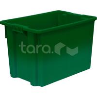 Пластиковый ящик 600x400x400 (сплошной) фото, купить в Липецке   Uliss Trade