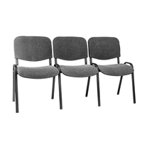 Секция стульев Изо трёхместная фото, купить в Липецке | Uliss Trade