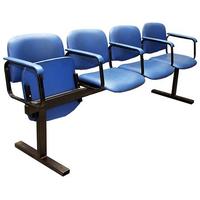 Секция стульев СМ 7/3 фото, купить в Липецке | Uliss Trade