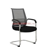 Кресло посетителя RT-007C черное фото, купить в Липецке | Uliss Trade