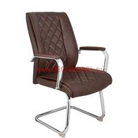 Кресло посетителя RT-720BS коричневое фото, купить в Липецке | Uliss Trade
