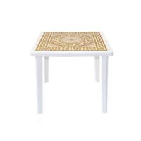 Стол квадратный с деколем 800х800х710 мм фото, купить в Липецке | Uliss Trade