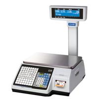 Торговые весы с печатью этикеток Cas CL3000B фото, купить в Липецке | Uliss Trade