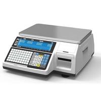 Торговые весы с печатью этикеток Cas CL3000P фото, купить в Липецке | Uliss Trade