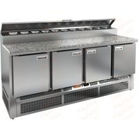 Стол холодильный для пиццы HICOLD PZE2-1111/GN камень фото, купить в Липецке | Uliss Trade