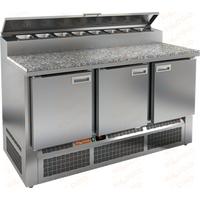 Стол холодильный для пиццы HICOLD PZE2-111/GN камень фото, купить в Липецке | Uliss Trade