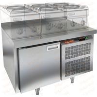 Стол морозильный под тепловое оборудование HICOLD SN 1/BT LT фото, купить в Липецке   Uliss Trade