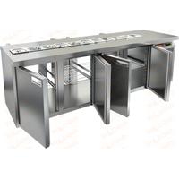Стол охлаждаемый для салатов саладетта HICOLD SL2T-1111/SN фото, купить в Липецке | Uliss Trade