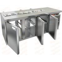 Стол охлаждаемый для салатов саладетта HICOLD SL2T-111/SN фото, купить в Липецке | Uliss Trade