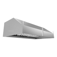 Зонт вытяжной пристенный ЗВН-120/120-Н фото, купить в Липецке | Uliss Trade