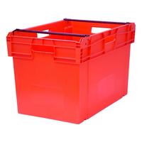 Ящик со складываемыми ручками п/э 600х400х407 мм фото, купить в Липецке | Uliss Trade