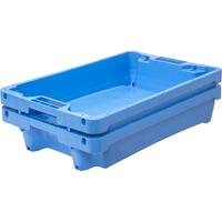 Ящик пластиковый 600х400х125 фото, купить в Липецке   Uliss Trade