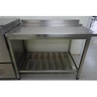 Стол выходной для посудомойки, левый 1200х750х870 фото, купить в Липецке | Uliss Trade