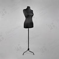 Манекен портной женский на металлической ноге (черный) К-301-ИК(42-44) фото, купить в Липецке | Uliss Trade