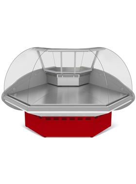 Витрина холодильная МХМ Илеть ВХС-УН фото, купить в Липецке | Uliss Trade