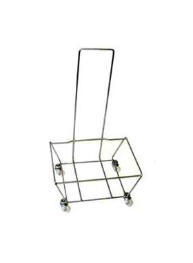 Подставка для корзин на колесах с ручкой BH-4 фото, купить в Липецке | Uliss Trade
