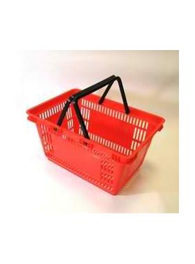 Корзина покупательская пластиковая SBP27 фото, купить в Липецке   Uliss Trade