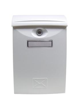 Почтовый ящик металлический LTP-03 WHITE фото, купить в Липецке | Uliss Trade