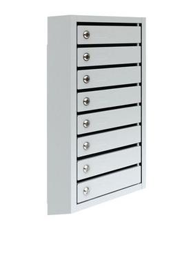 Почтовый ящик металлический восьмисекционный ПМ - 8 фото, купить в Липецке | Uliss Trade