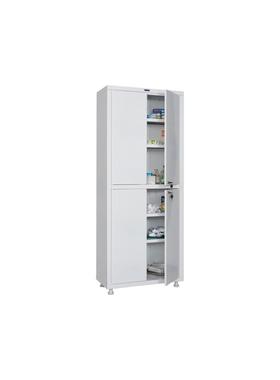 Шкаф для медикаментов двухстворчатый HILFE МД 2 1670/SS фото, купить в Липецке | Uliss Trade