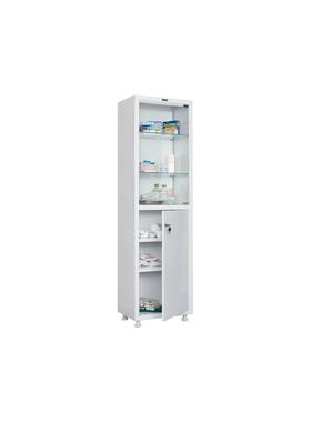 Шкаф для медикаментов одностворчатый HILFE МД 1 1650/SG фото, купить в Липецке | Uliss Trade