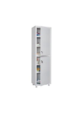 Шкаф для медикаментов одностворчатый HILFE МД 1 1650/SS фото, купить в Липецке | Uliss Trade