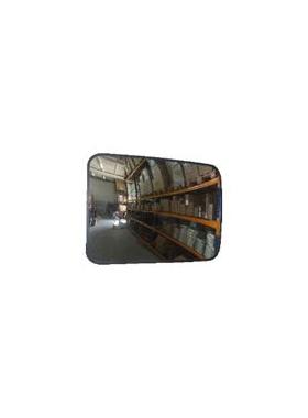 Зеркало сферическое, прямоугольное 600х800 мм фото, купить в Липецке | Uliss Trade