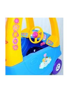 Детская тележка-автомобильчик для покупок в супермаркете фото, купить в Липецке   Uliss Trade