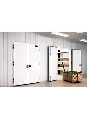 Распашные двухстворчатые холодильные двери коммерческой серии фото, купить в Липецке | Uliss Trade