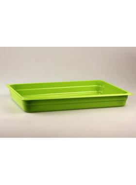 Гастроемкость GN 1/1 h=65 п/п зеленая фото, купить в Липецке | Uliss Trade