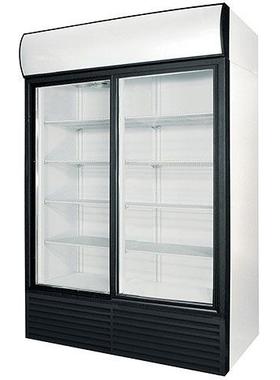 Холодильный шкаф со стеклянными дверьми POLAIR Professionale BC112Sd фото, купить в Липецке | Uliss Trade