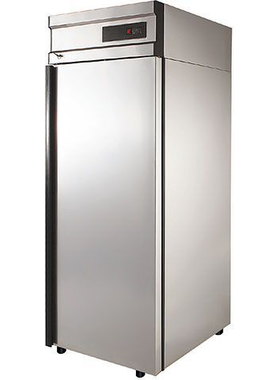 Холодильный шкаф из нержавеющей стали POLAIR CM105-G фото, купить в Липецке | Uliss Trade